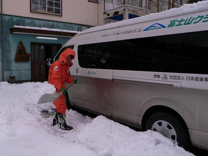 もりの学校周辺は大雪