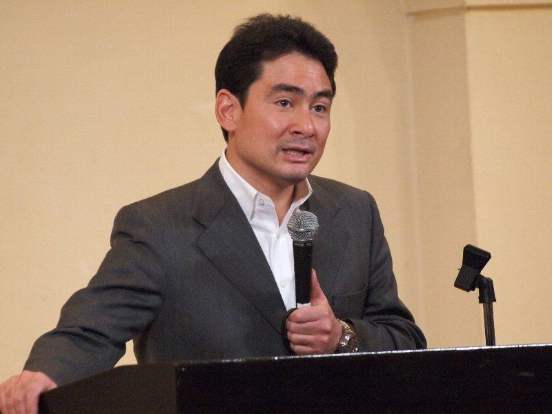 野口健さんのチャリティー講演会で寄付をいただきました!