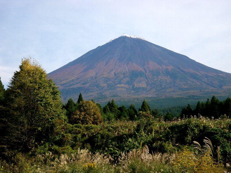 富士山南麓の秋
