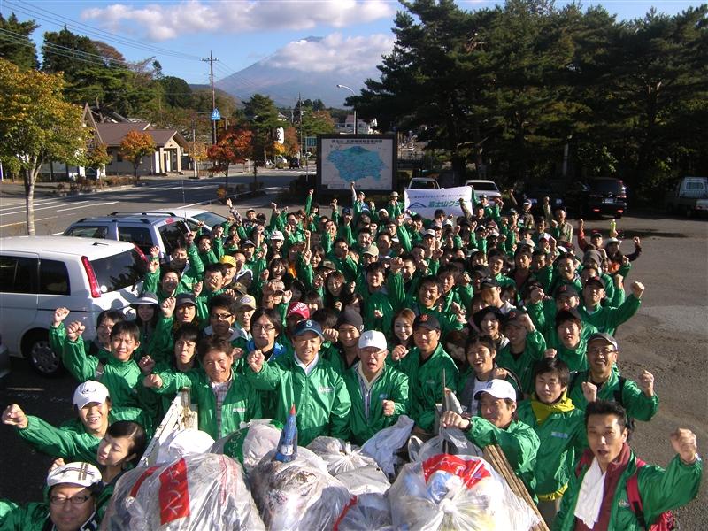 日本リユース業協会のみなさんとの清掃活動を実施しました!