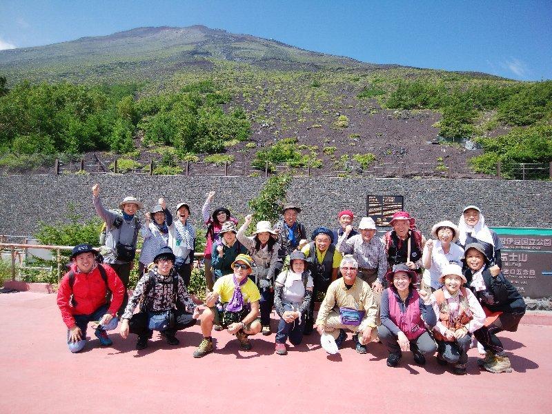 神田紫さんと行く富士登山2018