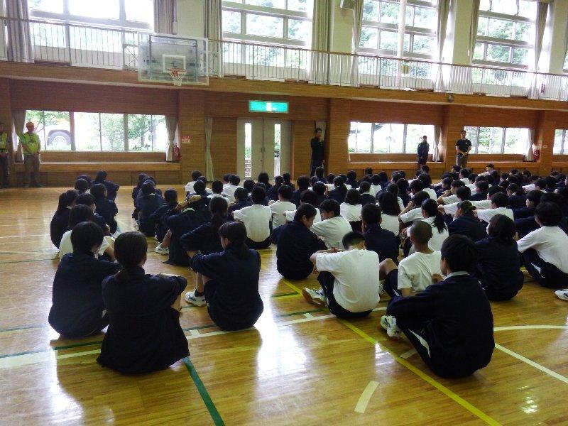 世田谷中学校1年生と環境について勉強しました