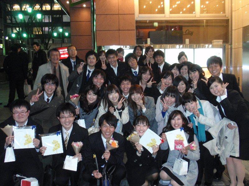 NUTSの卒業生送別会