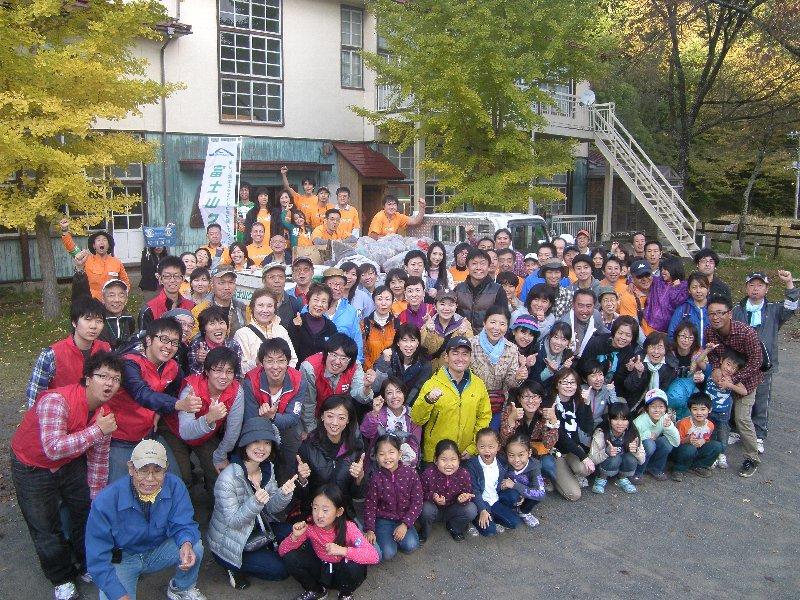 今年最後!毎日新聞社主催富士山クリーンツアーを実施しました!