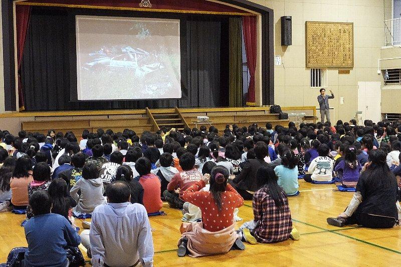 厚木市立戸田小学校に出張授業に行ってきました!!