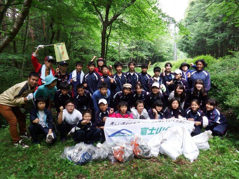 世田谷区立弦巻中学校の皆様と一緒に清掃活動を実施いたしました!