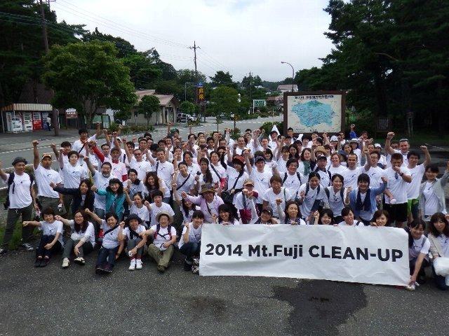 デニスジャパンのみなさんと清掃活動を行いました!