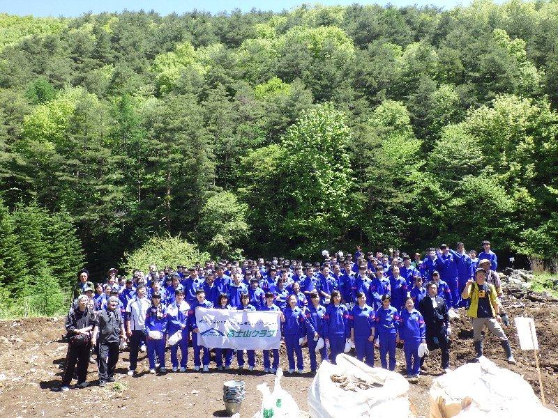 山形市立第六中学校の皆さんと清掃活動を実施しました!
