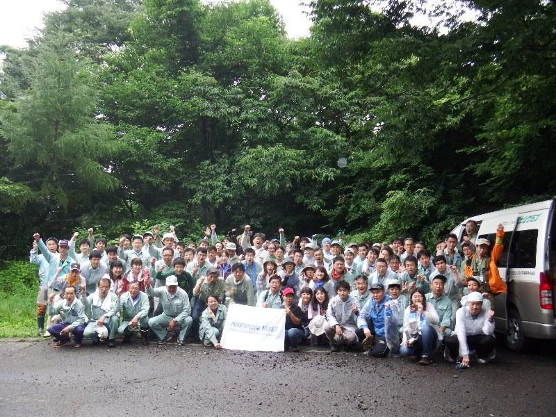 日本工営株式会社のみなさまと清掃ボランティアを行いました!