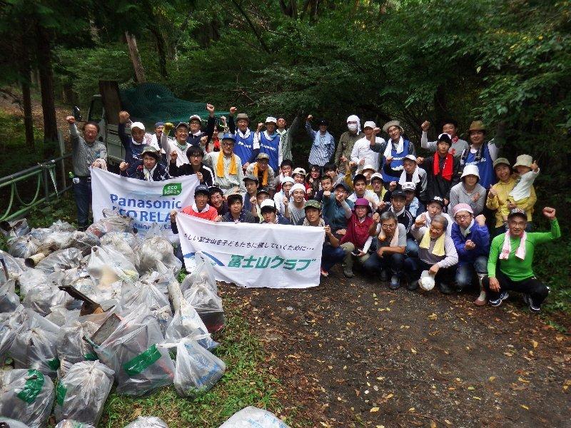 PGU山梨・長野地区連の皆様と清掃活動を実施しました!