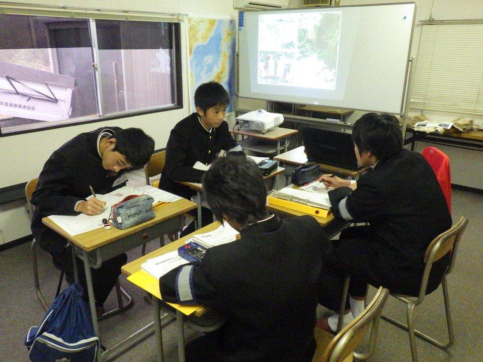 富士宮市立第二中学校富士山学習