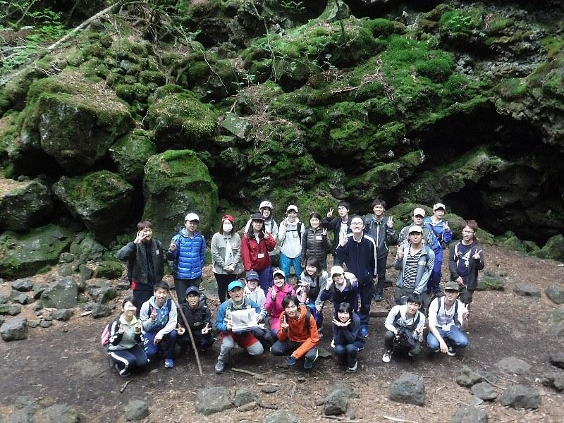 東洋大学学生ボランティアセンター、2日目は富士山麓トレッキング!
