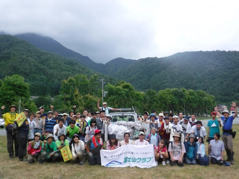 7月の定例クリーン活動は樹海で実施!