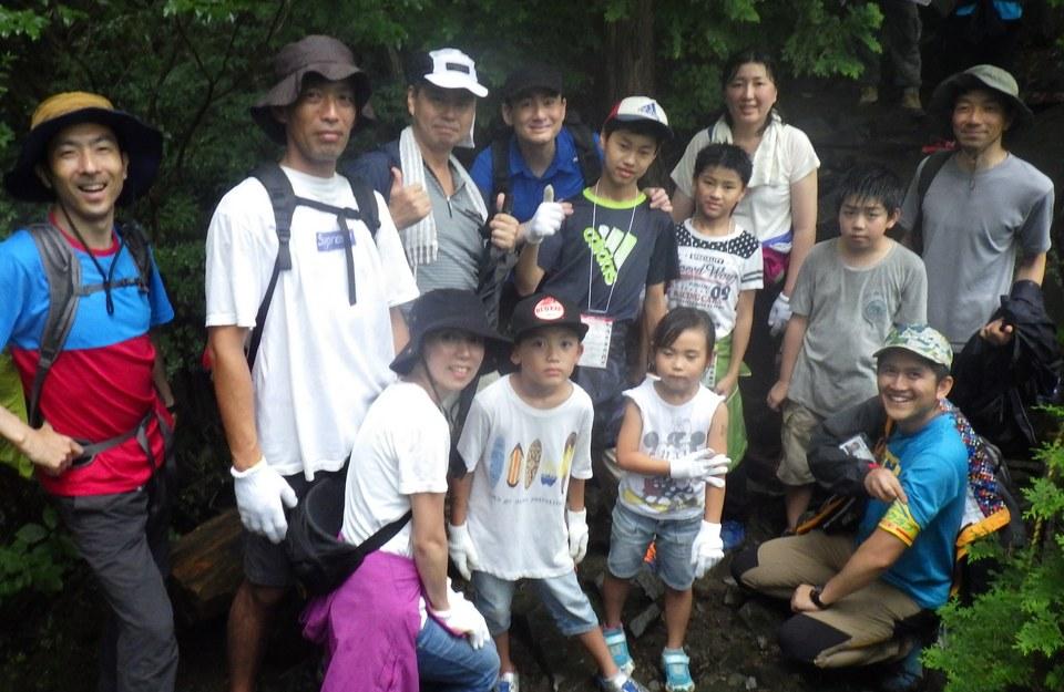 三菱スターキャンプ2017、野口健さんと毛無山登山!