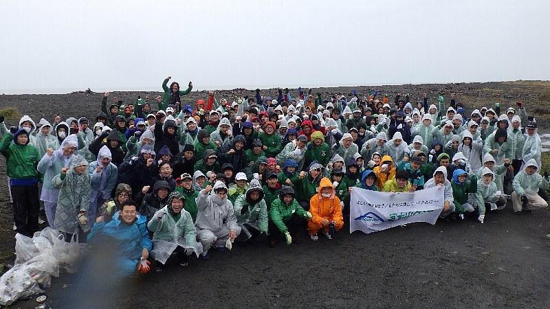 日本リユース業協会のみなさまと清掃ボラティアを行いました
