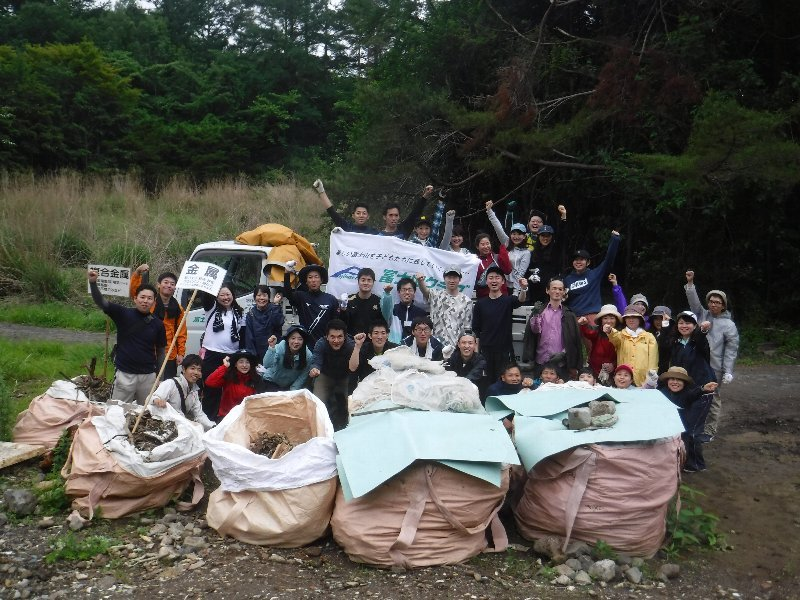 JTBグループ労働組合連合会の皆様と清掃活動を実施