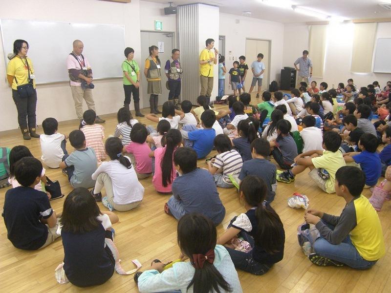 湘南学園小学校の皆さんと自然体験プログラム実施!