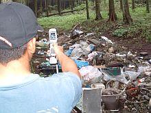 富士山環境ごみマップ