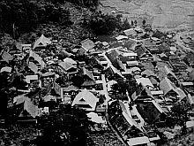 自然にかこまれ、かつて40戸の家族が暮らしていた