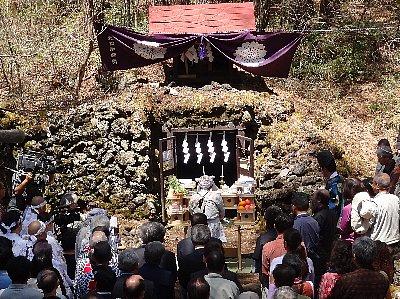 H24年 胎内祭@吉田胎内神社