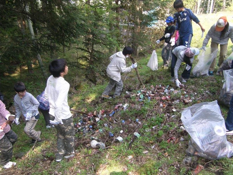 世田谷区立桜丘中学校1年生と清掃活動を実施しました!