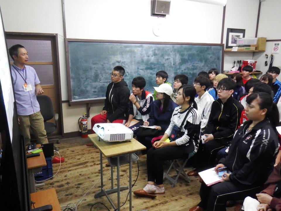 日本大学根本ゼミナール1日目