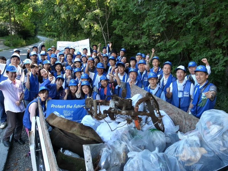 ネスレ日本 初の独自清掃活動を実施しました!