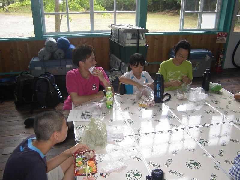夏休み子どもキャンプ 1日目