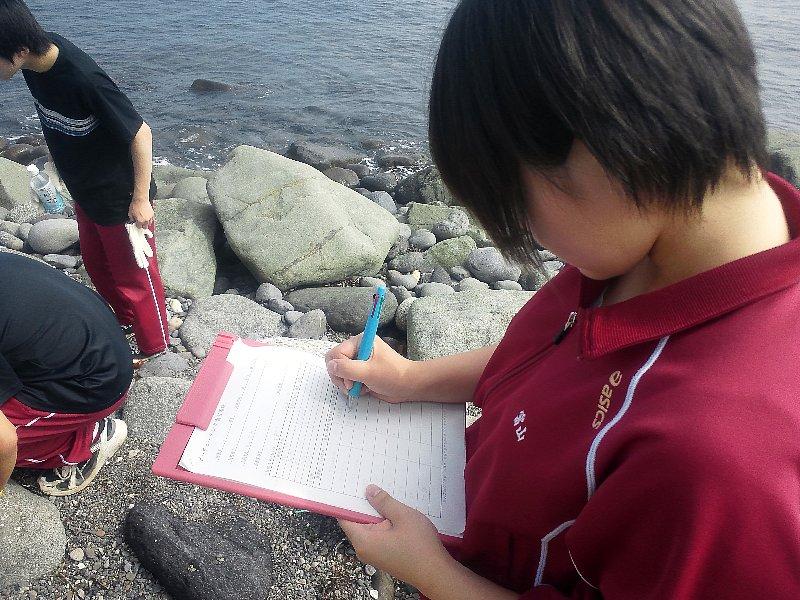 北海道羅臼高等学校と清掃活動を実施しました!!