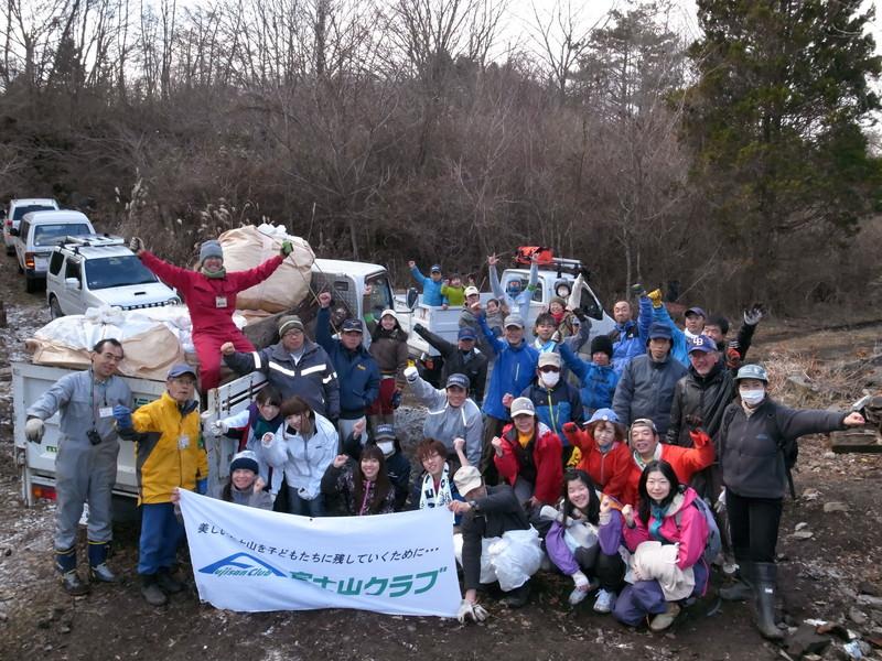 2012年最後のクリーン活動はやっぱり大量廃棄物!