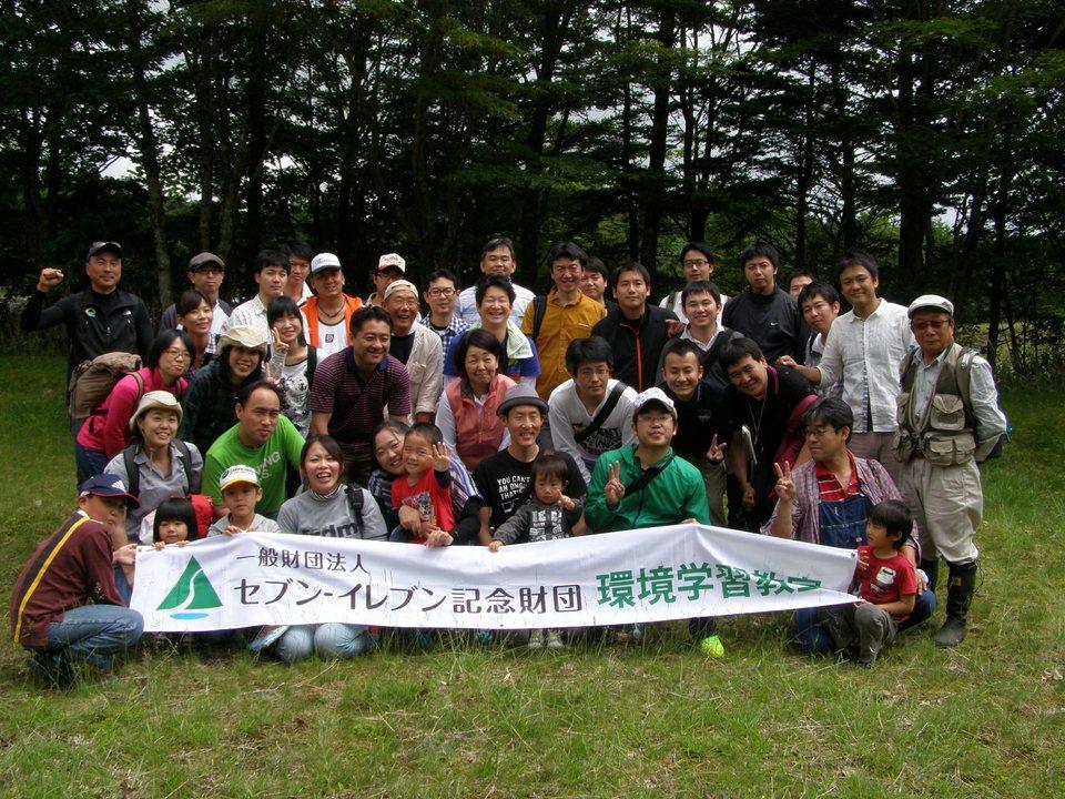 一般財団法人セブン-イレブン記念財団のみなさんと清掃ボランティア活動を行いました。