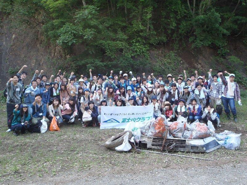 東洋大学ボランティアセンターのみなさんと清掃活動を行いました!