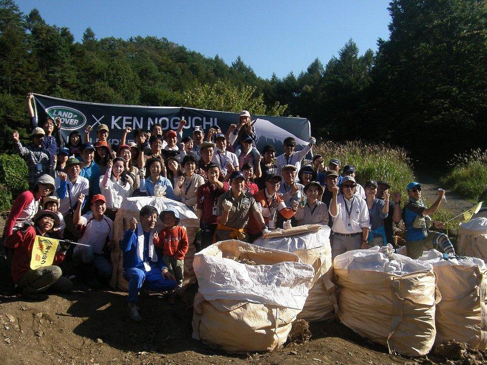 LAND ROVER × KEN NOGUCHI Mt.FUJI EXPERIENCE が開催されました!!