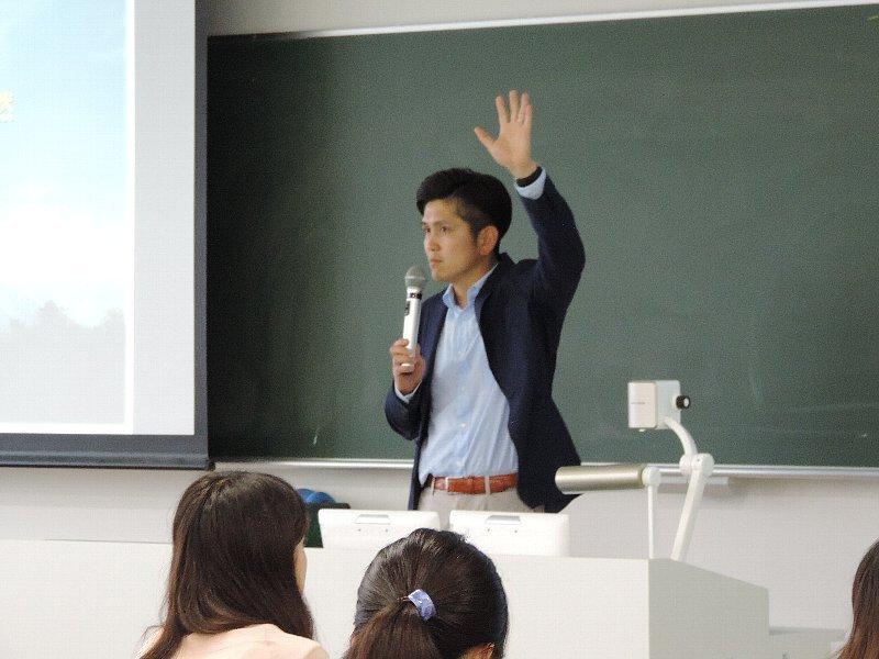 亜細亜大学国際関係学部で講義を実施!!