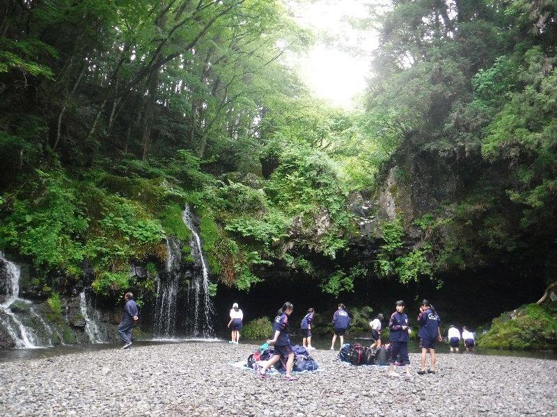 三島市立南中学校1年生の皆さんと自然体験活動を実施!