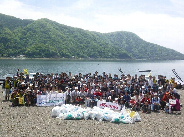 ドコモ・システムズ株式会社の皆様と外来植物駆除活動を実施!