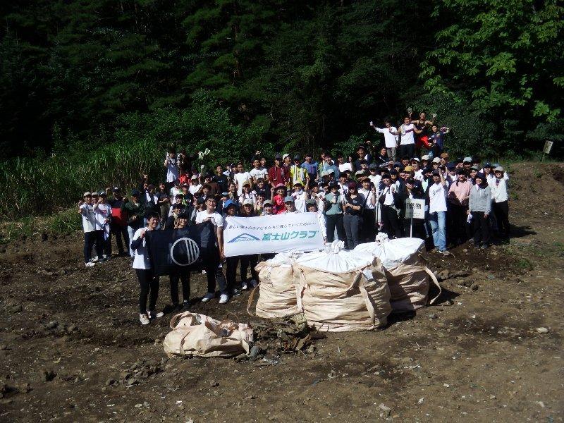 玉川大学教育学部・第3陣と清掃活動