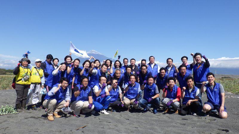 サムスンC&Tジャパンのみなさまと清掃活動
