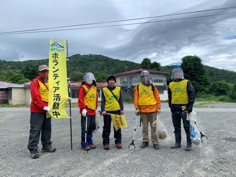 国道139号線清掃作業(2)
