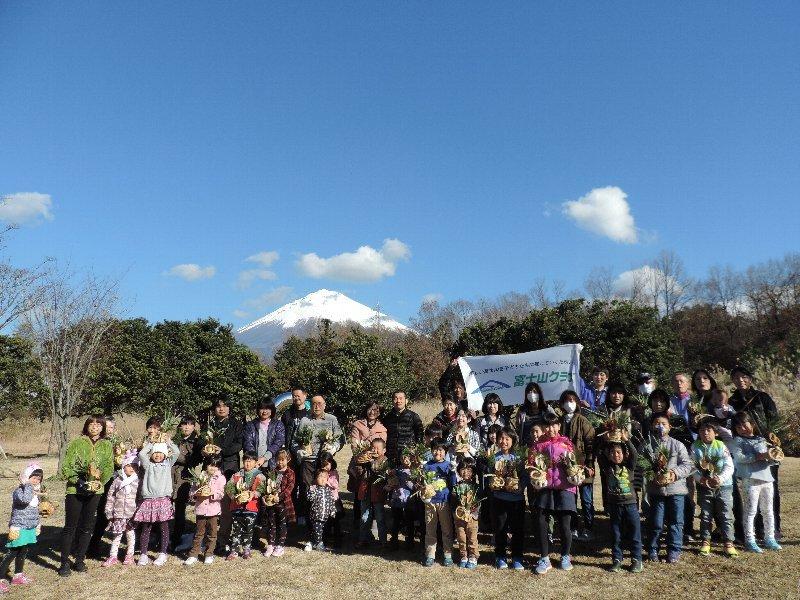 ミニ門松づくり@静岡富士山環境交流プラザ