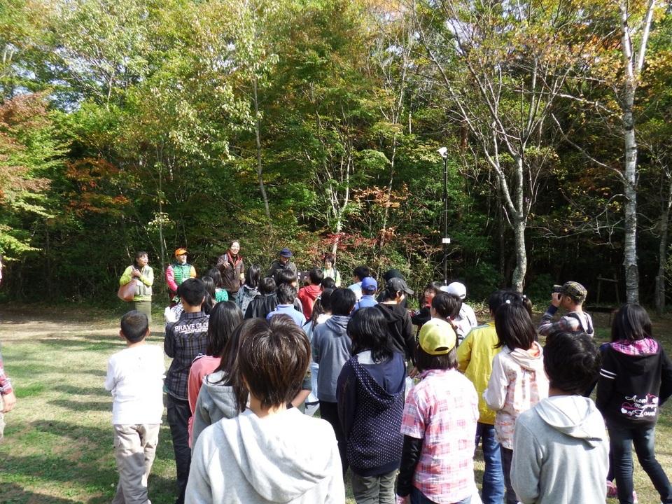 押原小学校6年生と秋の樹海トレッキング!