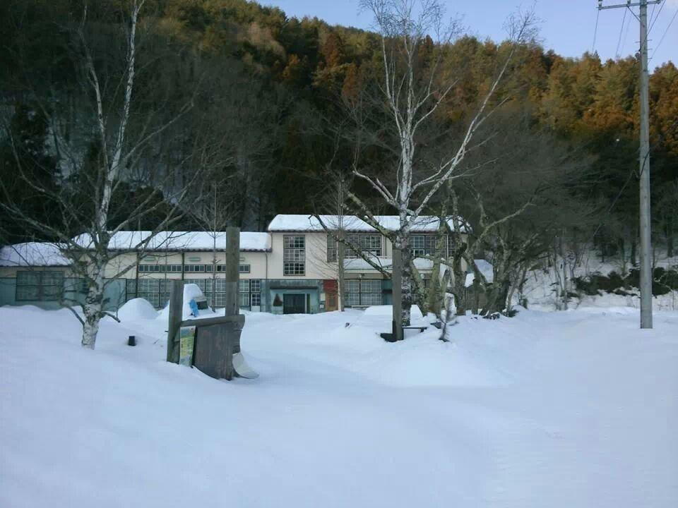 もりの学校 大雪レポート