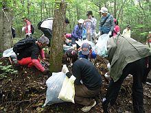 富士山クラブの清掃活動