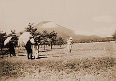 開業当時の富士ゴルフコース