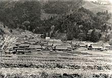 日本一美しい茅葺きの集落といわれていました
